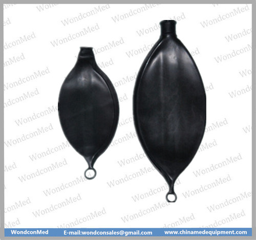 Reused latex black breathing Bags  WMA400A