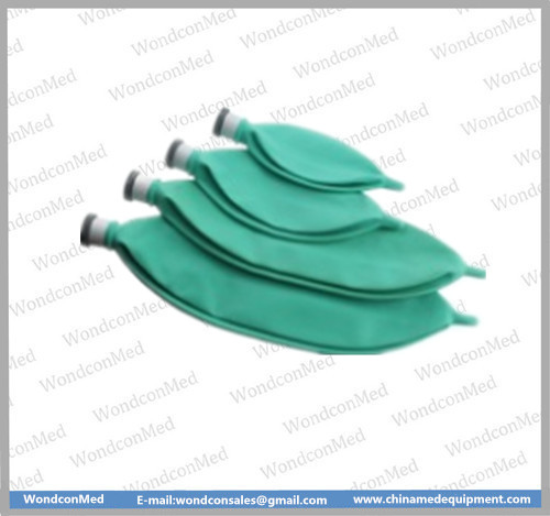 Disposable green breathing bag WMA400C